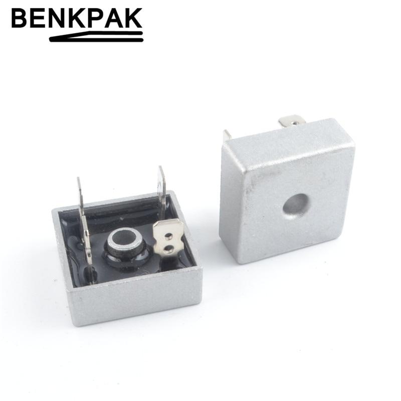 5pcs  10A 1000V Metal Case Bridge Rectifier SEP KBPC1010