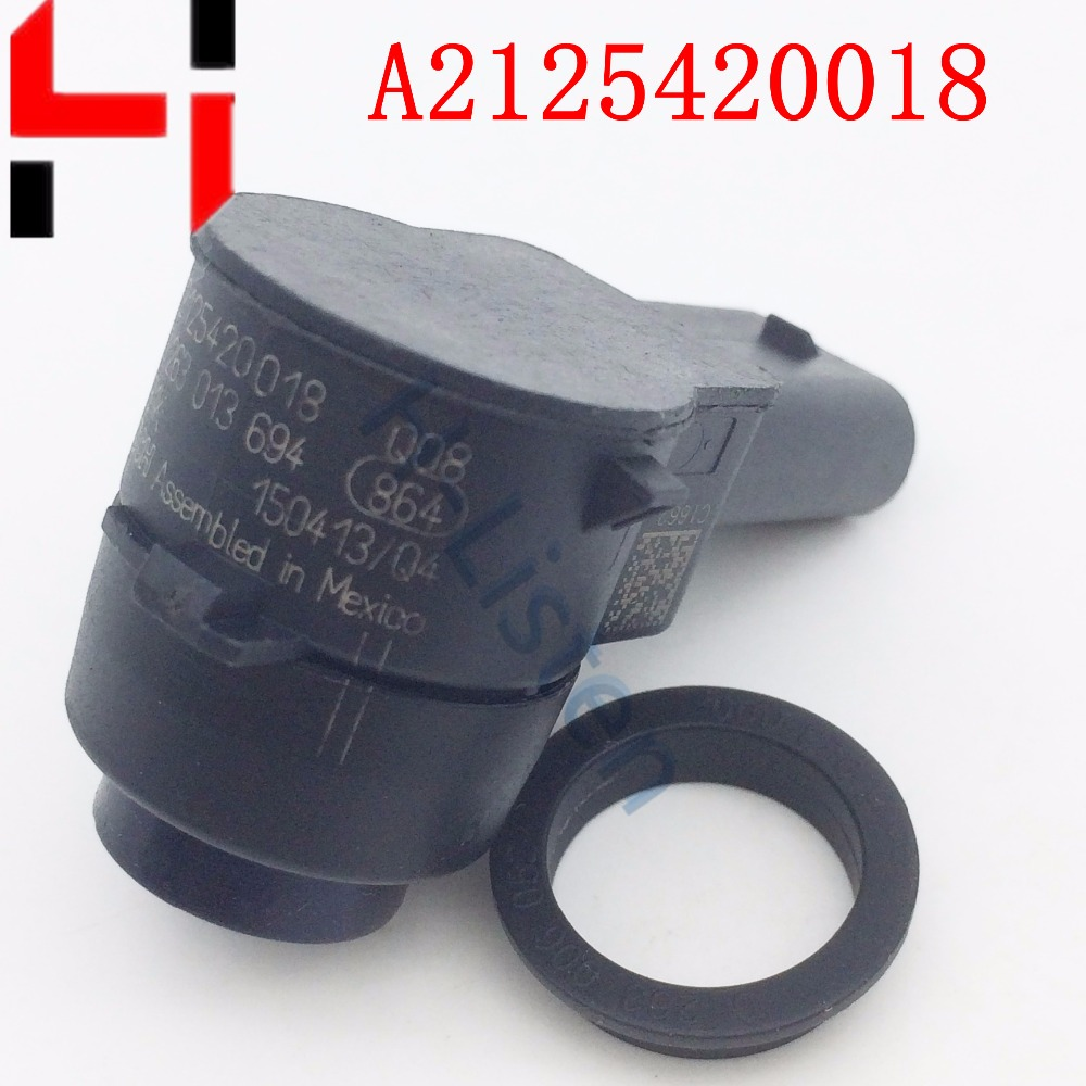 Pack PDC Parking Distance Control Sensors For C300 E500 S400 SLK250 ML350 ML550 ML63 AMG 2125420018 A2125420018