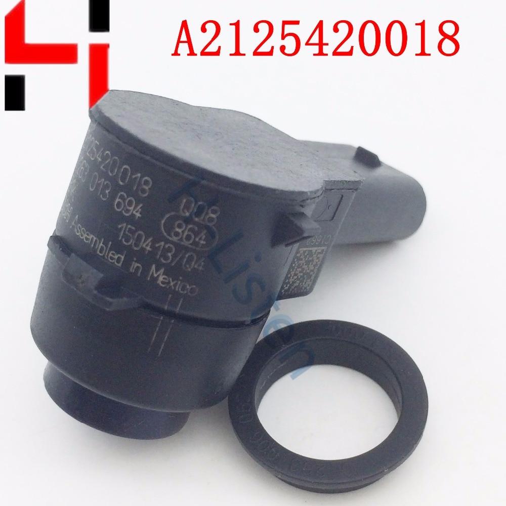 Pack PDC Capteurs de contrôle de distance de stationnement pour C300 E500 S400 SLK250 ML350 ML550 ML63 AMG 2125420018 A2125420018