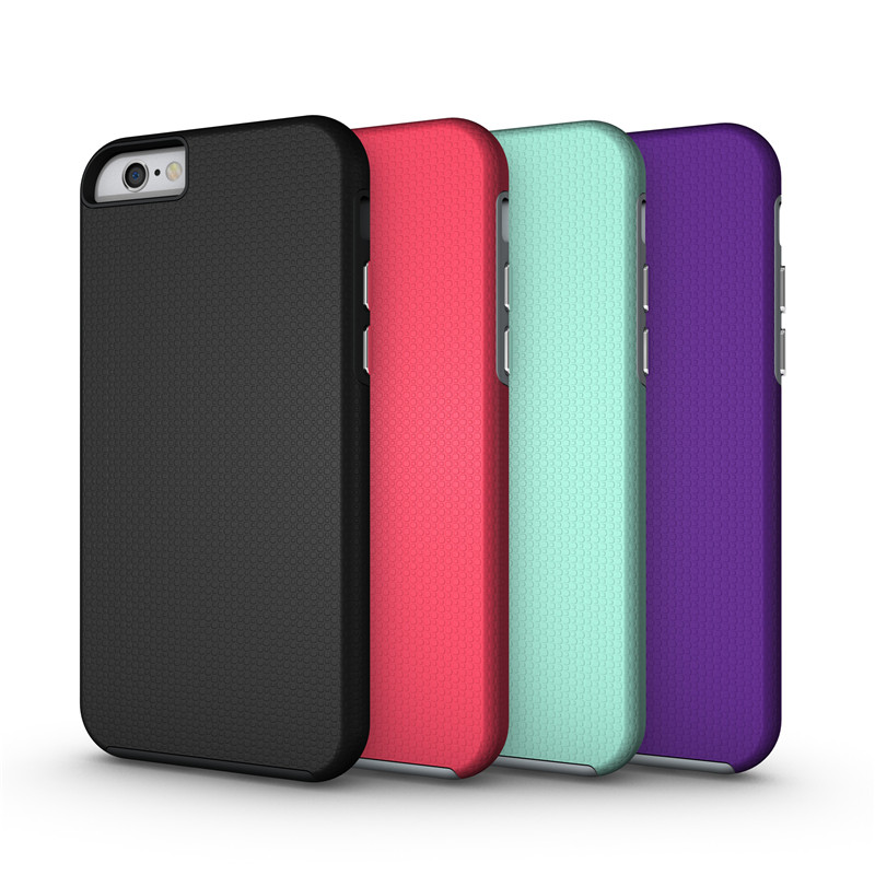 For iPhone 6S Non <font><b>Slide</b></font> Armor <font><b>Case</b></font> Shockproof Cover For iPhone 5 5S 6 7 8 Plus Hybrid Hard Cover Capa