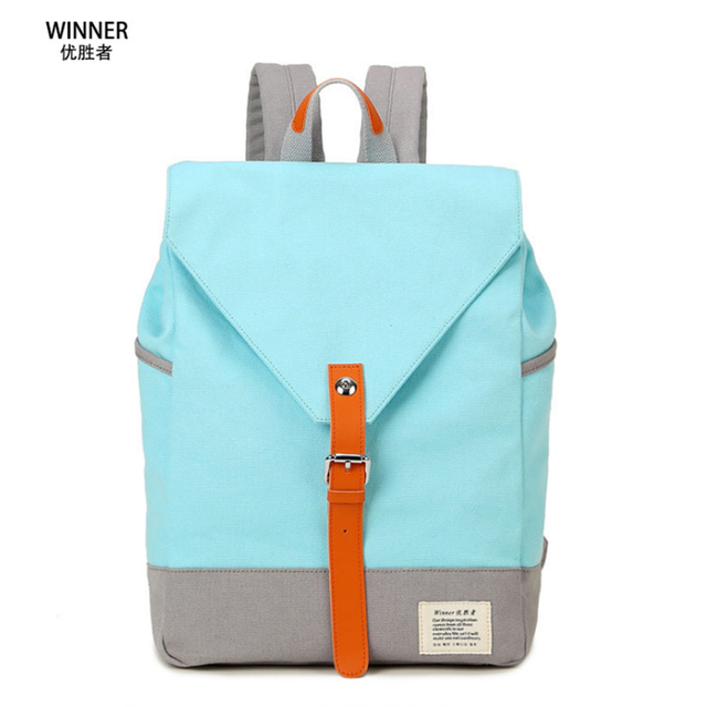 Winner 2017 New Women Backpack Panelled Pattern Schoolbags Casual Travel  Bags Canvas Knapsack Hot Sale Style 9e29541e89