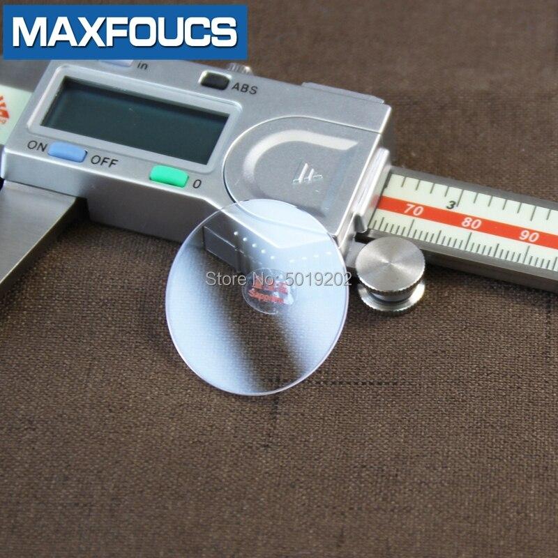 Vidro de Cristal Transparente para o Reparo do Relógio Assista Vidro Grosso Tamanho 30-39.5mm Safira Plana Anti Risco Liso Redondo 1.5mm