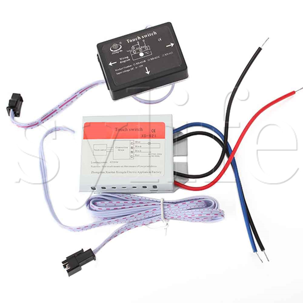 On/Off Touch Switch for Mirror Lamp Lighting Accessories 50/60Hz XD-621 bqlzr 4 mode on off touch dimmer switch xd 613b for glass body led lamp