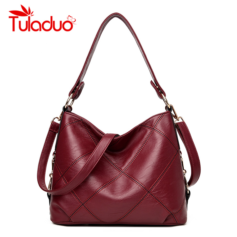 Tuladuo New Lady Shoulder Bags Women Famous Brands Handbags Female Embroidery Casual Big Crossbody Bag Tote For Girls SAC A MAIN new fashion style belt top handle bags women bags handbags women famous brands oil skin solid soft female casual tote sac a main
