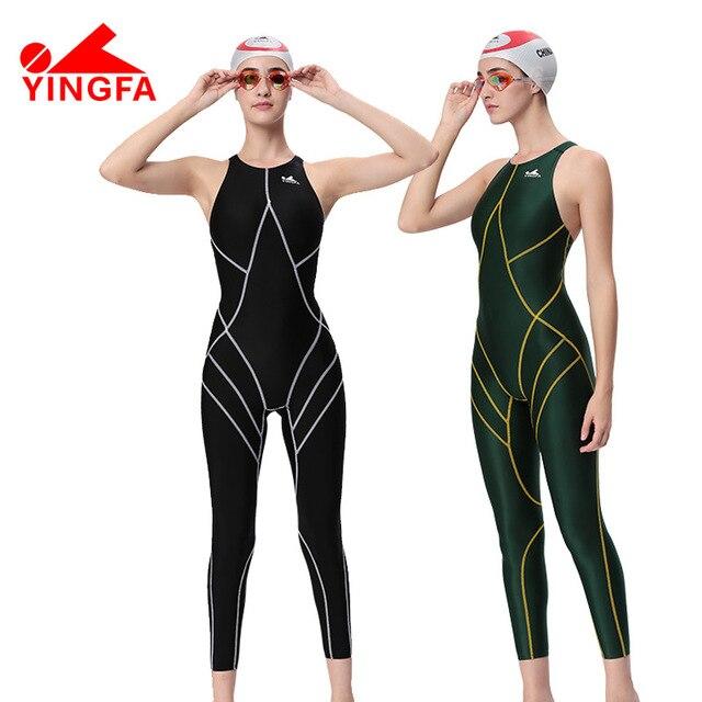 76fb991007ef € 37.81 30% de DESCUENTO ¡Venta caliente! Yingfa impermeable mujeres  spandex traje de cuerpo completo de natación para mujeres LICRA trajes de  ...