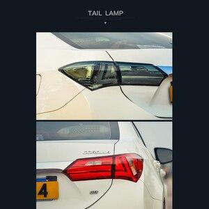 Image 5 - LSlight For Corolla 2014 2015 2016 2017 2018 2019 LED Tail Light Assembly lights Bulb Lamp Running Lights Stop Brake Turn Signal