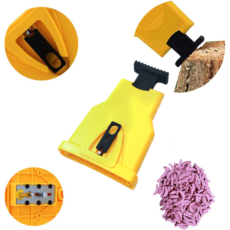 Grinder Teeth Sharpener Chainsaw Stone Sharpener Grinding Electric Power Chain Saw Chain Sharpener Woodworking Tools