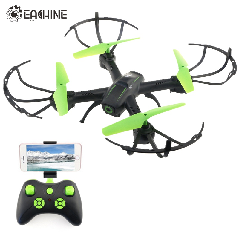Eachine E31 E31HC E31HW 2MP 0.3MP Camera Wifi FPV Altitude Hold Healess Mode 2.4G 4CH 6-Axis RC Drone Quadcopter Toys Gift RTF