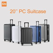 Origiinal Xiaomi Suitcase 90FUN 20 Inch PC Suitcase TSA Lock Carry on Spinner Wheels Rolling Luggage Case Outdoor Travel