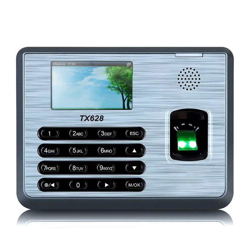 ZKTime 5.0  Fingerprint Attendance System ZKTeco TX-628 Biometric Fingerprint Reader Fingerprint Time Clock System