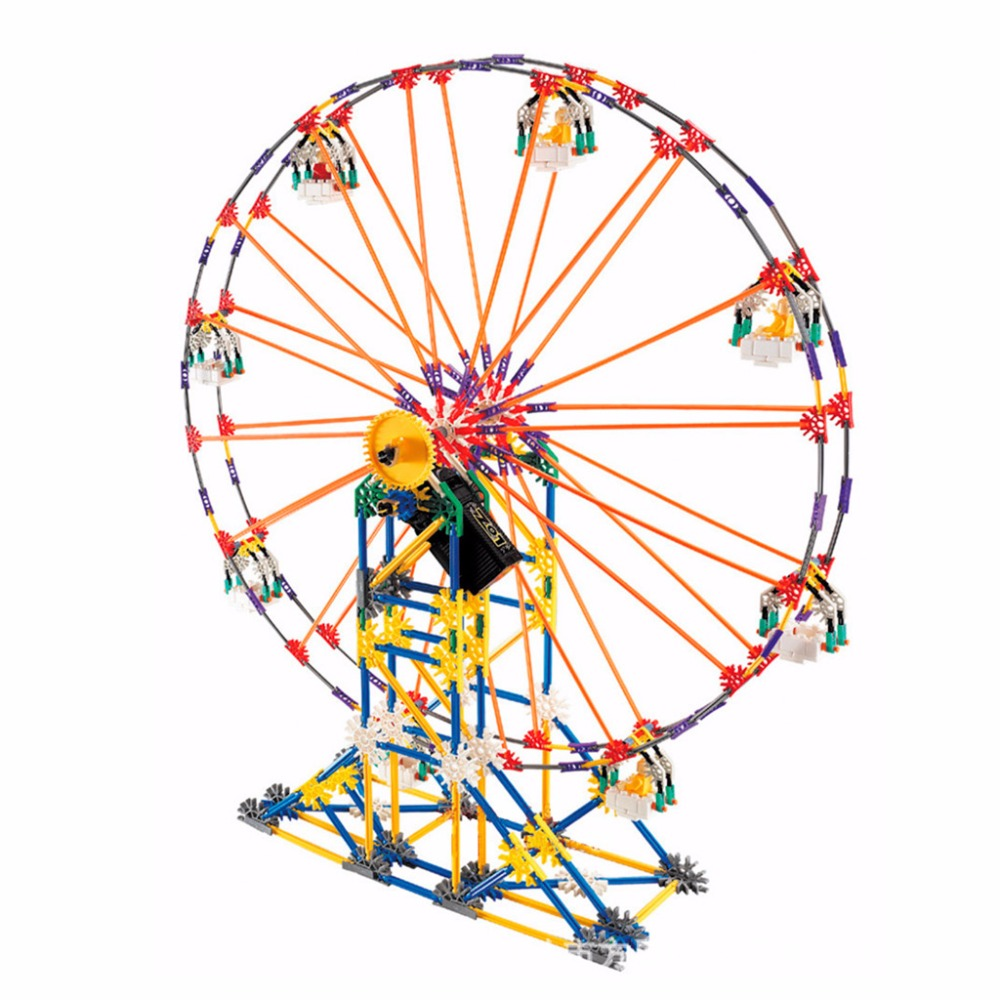 Kids Learning Ferris Wheel Sky Wheel Educational Motor Building Blocks Toys Baby Child Playthings ...