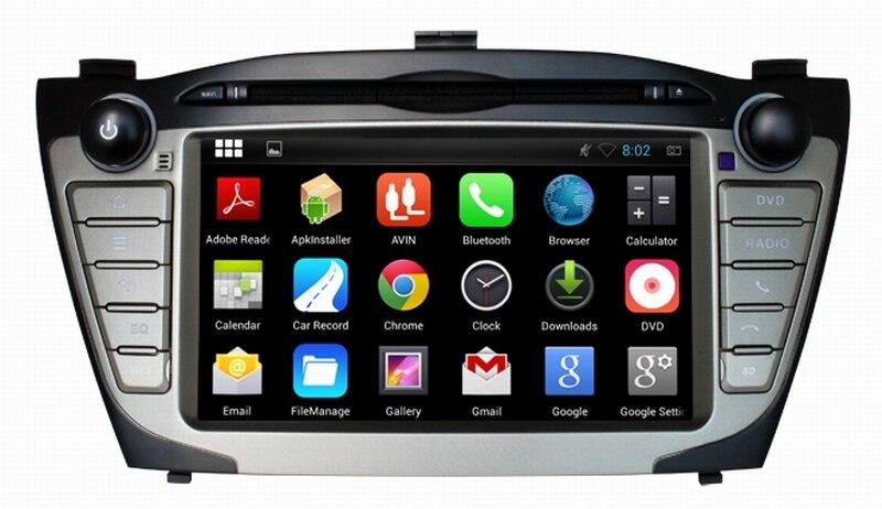 Ouchuangbo Car Dvd Gps Radio For Hyundai IX35 2010 2014 With USB SD 1024 600 Quad
