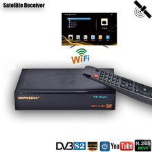 HD Digital Receiver Satellite DVB S2 Rezeptor H.265 IPTV M3U Satellite TV Empfänger DDR2 2GB PowerVu DRE Biss schlüssel FTA TV Tuner
