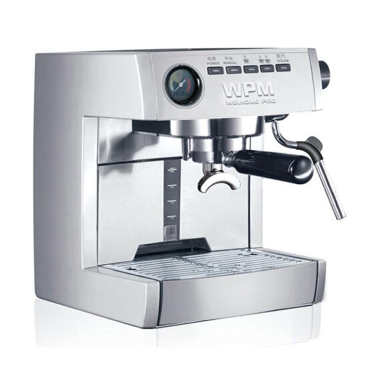 220V WELHOME KD 135B コーヒーメーカーエスプレッソコーヒーマシン全自動半自動半自動家庭用コーヒーマシン -