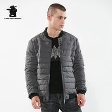2017 New Winter Men's Parka Designer Fashion Simple Style Plus Size Thick Casual Jacket Coat Men Overcoat M~3XL CY5FWZ35
