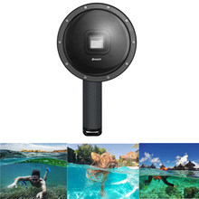 6 inch Waterproof Dome Port Dving Dome for HERO 6 Hero 5 Black Edition Action Camera With Floaty Bobber(China)