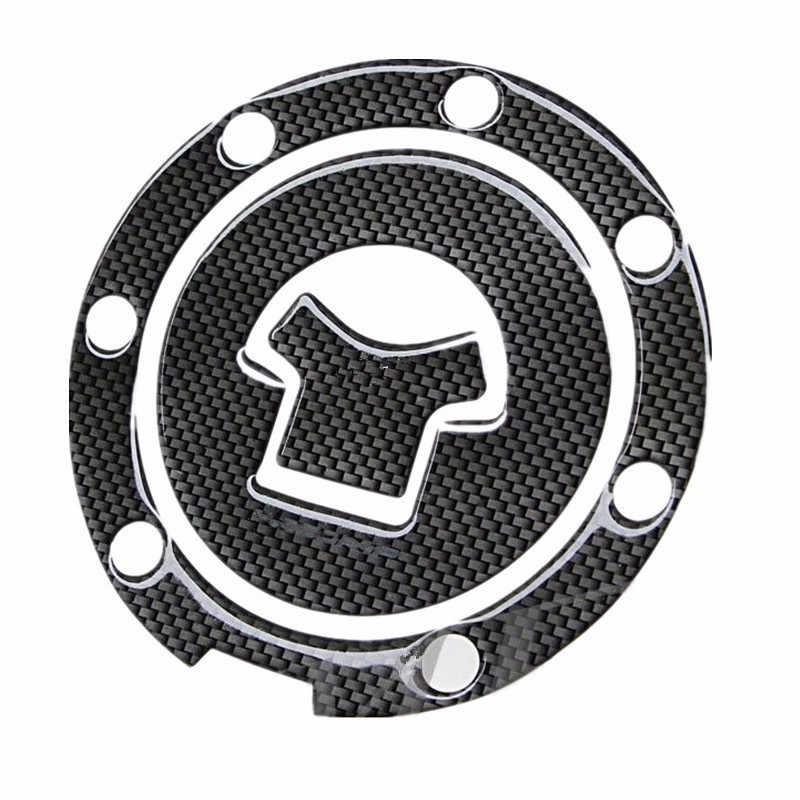 สีดำ 3D รถจักรยานยนต์ Moto ถังน้ำมันเชื้อเพลิง Pad สติกเกอร์ Protector รูปลอกสำหรับ Honda CBR RVF VFR CB400 CB1300 CBR1000RR CBR600R VT250