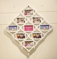 Yaratıcı kombinasyonu çerçeve 9 fotoğraf çerçevesi aile aşk 6-inch oturma odası fotoğraf duvar resim çerçevesi 17E15D5
