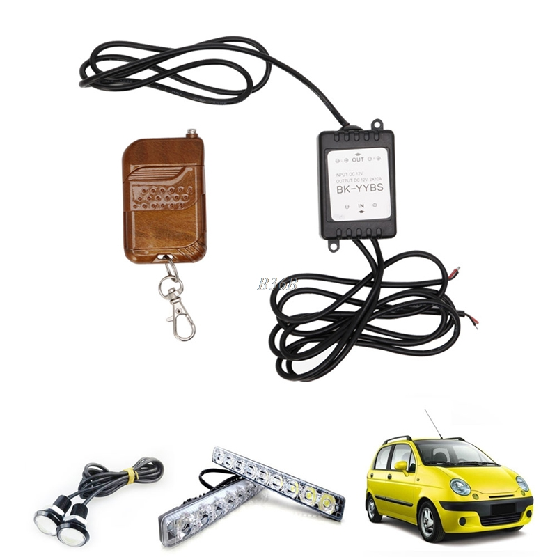 New 16 Modes Car Auto LED Fog Light Controller Remote Control Wireless Controller MAR29 clark service manuals new and old modes 2017