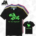 luminous Anime Horse men's short shirts big size S-6XL T-SHIRT  free shipping