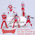 "Free Shipping 5pcs Cool 4.8"" Ultraman Ultrawoman Set The 8th Generation PVC Action Figure Collection Model Toy (5pcs per set)"