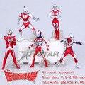 """Frete Grátis 5 pcs Fresco 4.8 """"Ultraman Ultrawoman Definir A oitava Geração PVC Action Figure Toy Model Collection (5 pcs por o jogo)"""