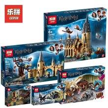 Лепин Харри Поттер 16030 16031 16060 16028 16052 16054 16055 16059 Hogwart замок Совместимость Legoings 4842 75954 75953 71043