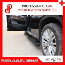 Automatic scaling high quality aluminium alloy Electric pedal side step running board for X5