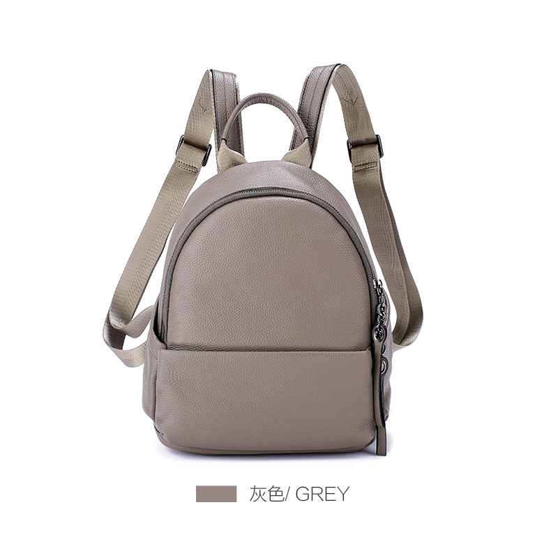 LOEIL Bag female autumn new fashion women's bag shoulder bag female leather female bag first layer cowhide large capacity big ba