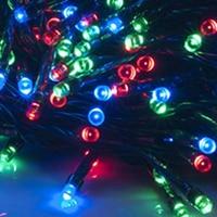 2017 Лидер продаж 100 светодиодных солнечной Мощность гирлянды Garden Party Строка Фея лампы четыре Цвет дома и сада Прямая доставка