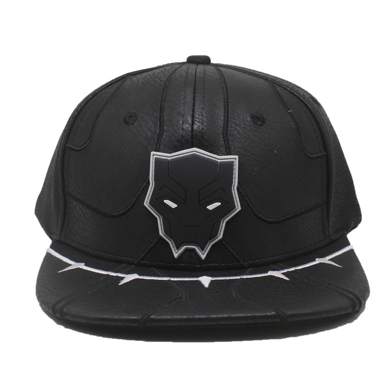 Avengers 3 Infinity War Black Panther cosplay accessory baseball cap hat