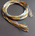 DIY earphone upgrade wire shielded silver-plated wire Repair headphone cable