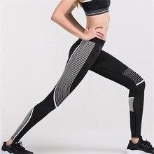 2019 3D printing Stripe Compression Pants Men/Women Skinny Bodybuilding Sweatpants Men Running Leggings Gym Jogging Trousers