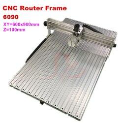 CNC rama 80mm spinlde oprawa 6090 dla zastosowań przemysłowych CNC o mocy 2200 W maszyna do grawerowania|Frezarki do drewna|   -