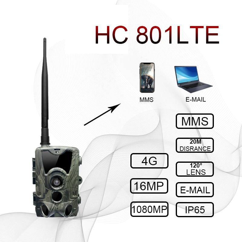 Hunting-Camera Photo-Traps HC801LTE HC550M Night-Vision MMS HC700G HC300M 12MP Dropship