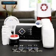 HOMSECUR Wireless GSM Burglar Intruder Alarm System with 6 Pet Friendly PIR Sensor