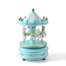 Home Decoration Wooden Music Box Wooden Crafts Bar Living Room Decorations Wedding Decoration Crafts The Children Gifts