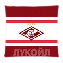 Fresco Spartak Moscow Soft cremallera funda de almohada rectángulo tamaño 16 x 16,18 x 18,20 x 20,24 x 24 pulgadas lados dobles de impresión
