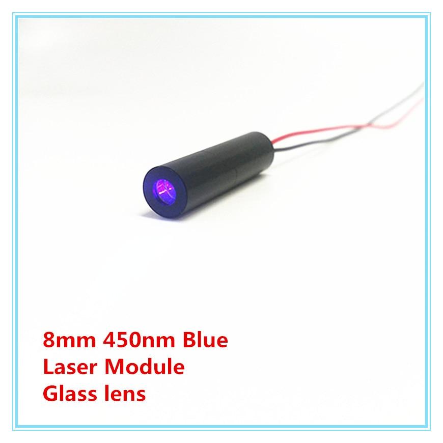 8mm 450nm Glass Lens 1mw 5mw 10mW 50mw 80mw Blue Laser Module Industrial Grade TYLASERS
