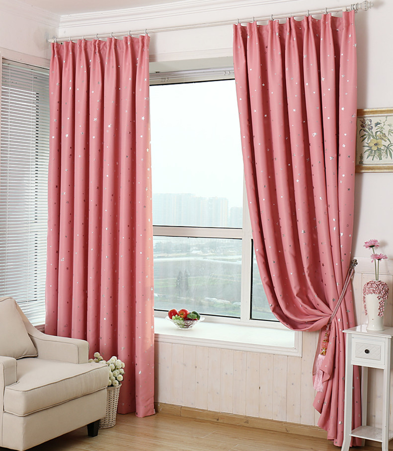 Explosion Models Single Little Stars Blackout Curtain Bedroom Living ...