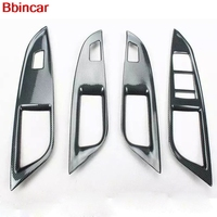 Bbincar ABS Carbon Fiber Paint Interior Front Middle Gear Shift Window Switch AC Vent Trim For Chevrolet Cruze 2015