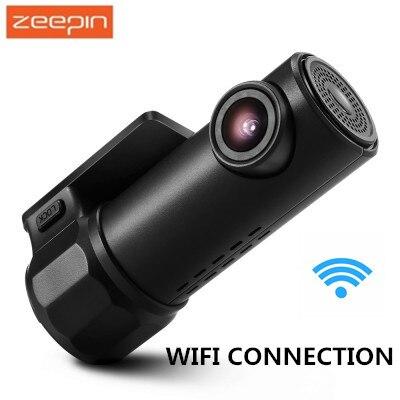 ZEEPIN S600 720 p WiFi Cachée Dash Cam 360 Degré Max Tournant 170 Degrés Grand Angle Lentille WDR g-sensor enregistreur de Conduite de voiture