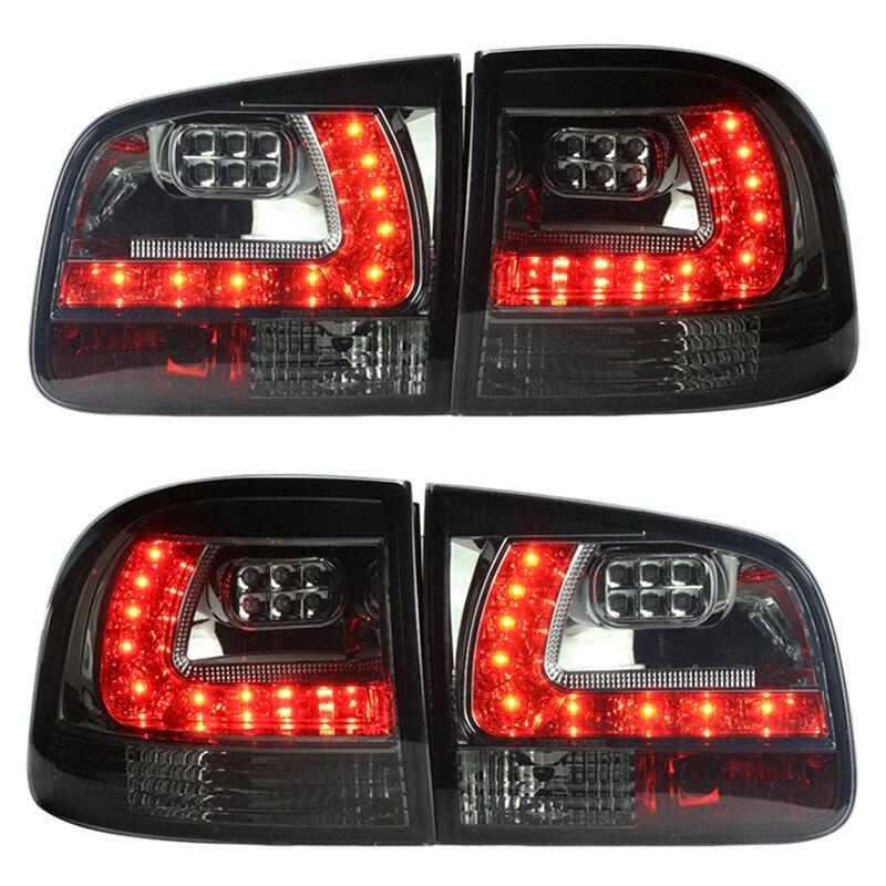 Pour VW Volkswagen Touareg LED feu arrière 2003-2006 Noir