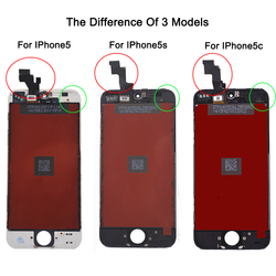 Factory Sale LCD For Iphone 5 iphone 5c iphone 5s Screen Display Part Glass Touch Panel Digitizer Assembly Complete Tools Screen