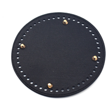 2018 New Fashion Shoulder Bag Bottom Tray Round Fixing Plate Replacement for Women Handbag  Handmade Diy Accessories KZBT018