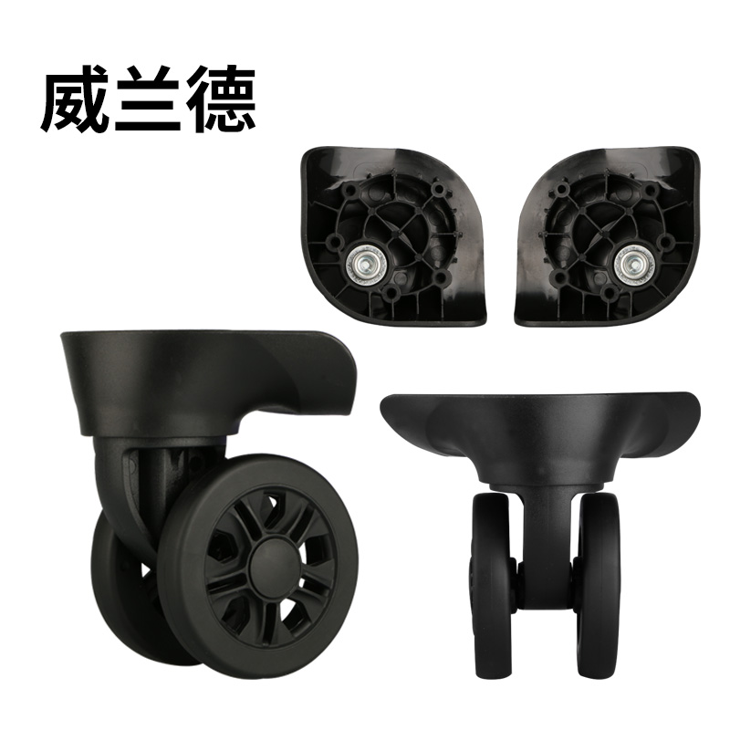 Luggage Replacement Wheel Parts  Wheel For Suitcase Repaire Universal Suitcase Wheels  Boarding The Chassis Rolling Casters