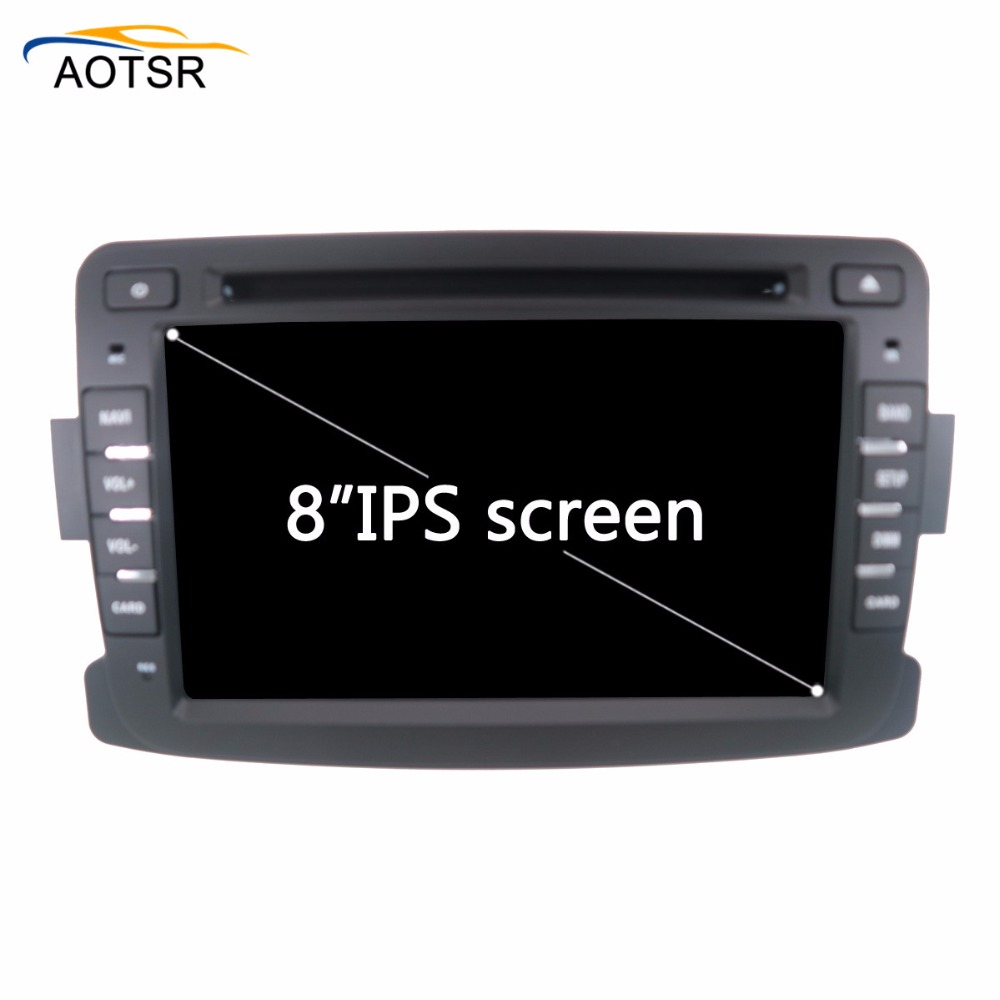 Android 8.0 Car multimedia dvd player head unit For Renault Duster 2012 2013 car Radio stereo Audio gps tape recorder 4+32GB BT