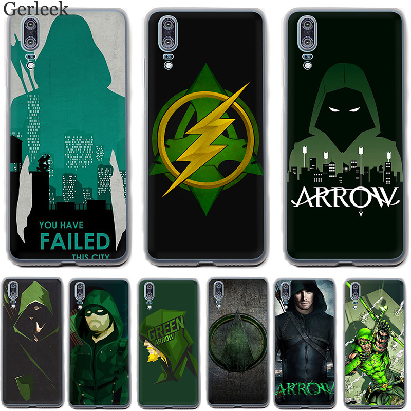 Soft TPU Case American Tv Series Green Arrow Cover For Huawei P30 P8 P9 P10 P20 Lite Pro 2015 2016 2017 P Smart image