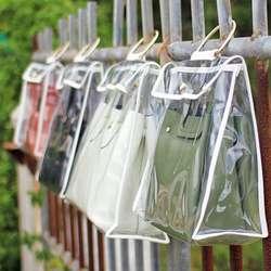 Содержать в чистоте сумки пылезащитный чехол прозрачный хранения Организатор сумка