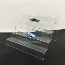 5 Tier Desktop Acrylic Step Display  Stand Holder For Small Toys